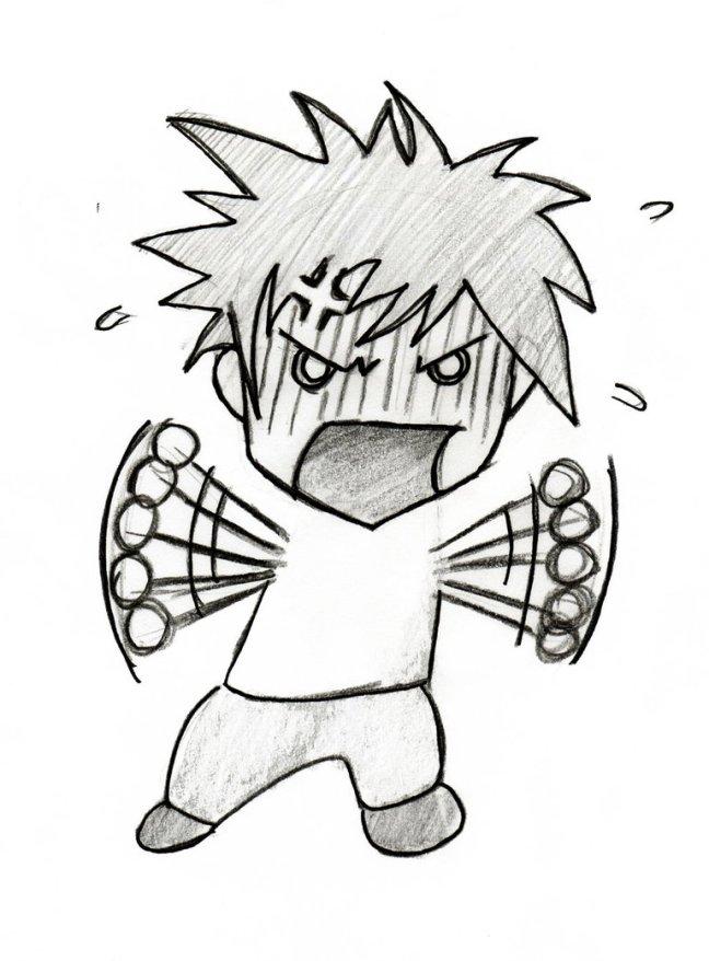 angry chibi