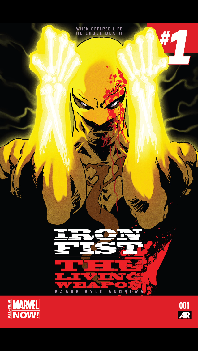 Iron Fist – The Living Weapon#1