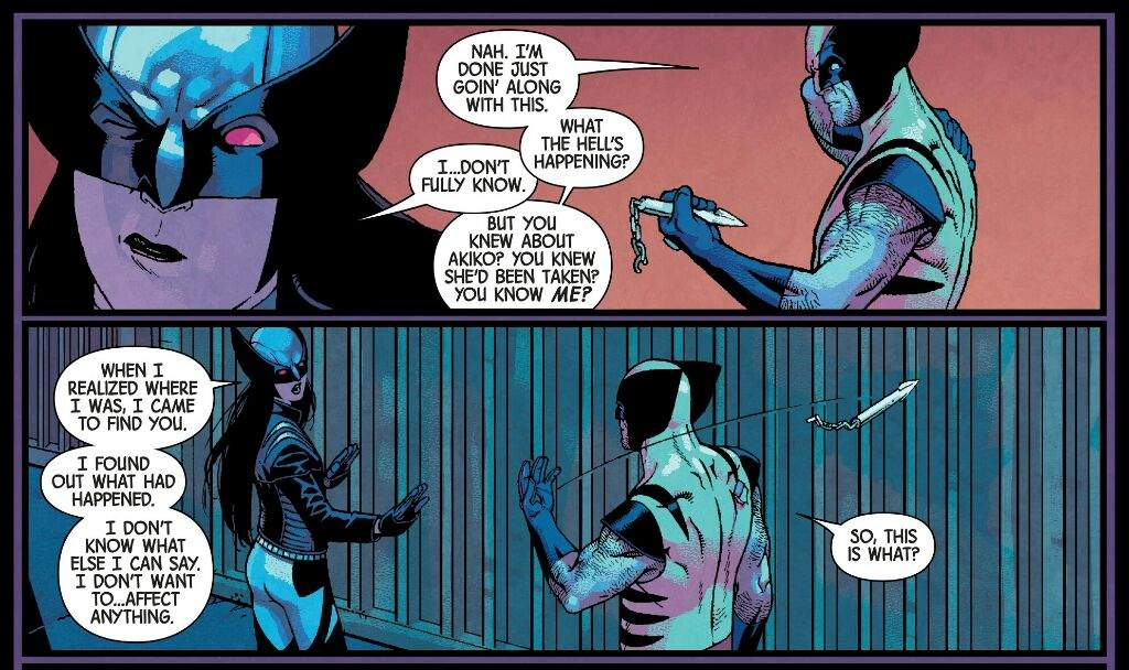x-23 describes why she is there