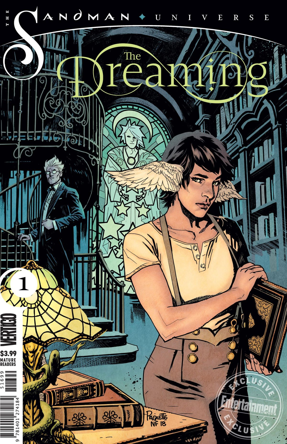 The Dreaming 2018 issue #1recap