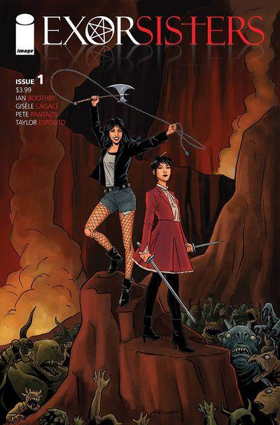 Exorsisters Issue #1 Comic BookRecap