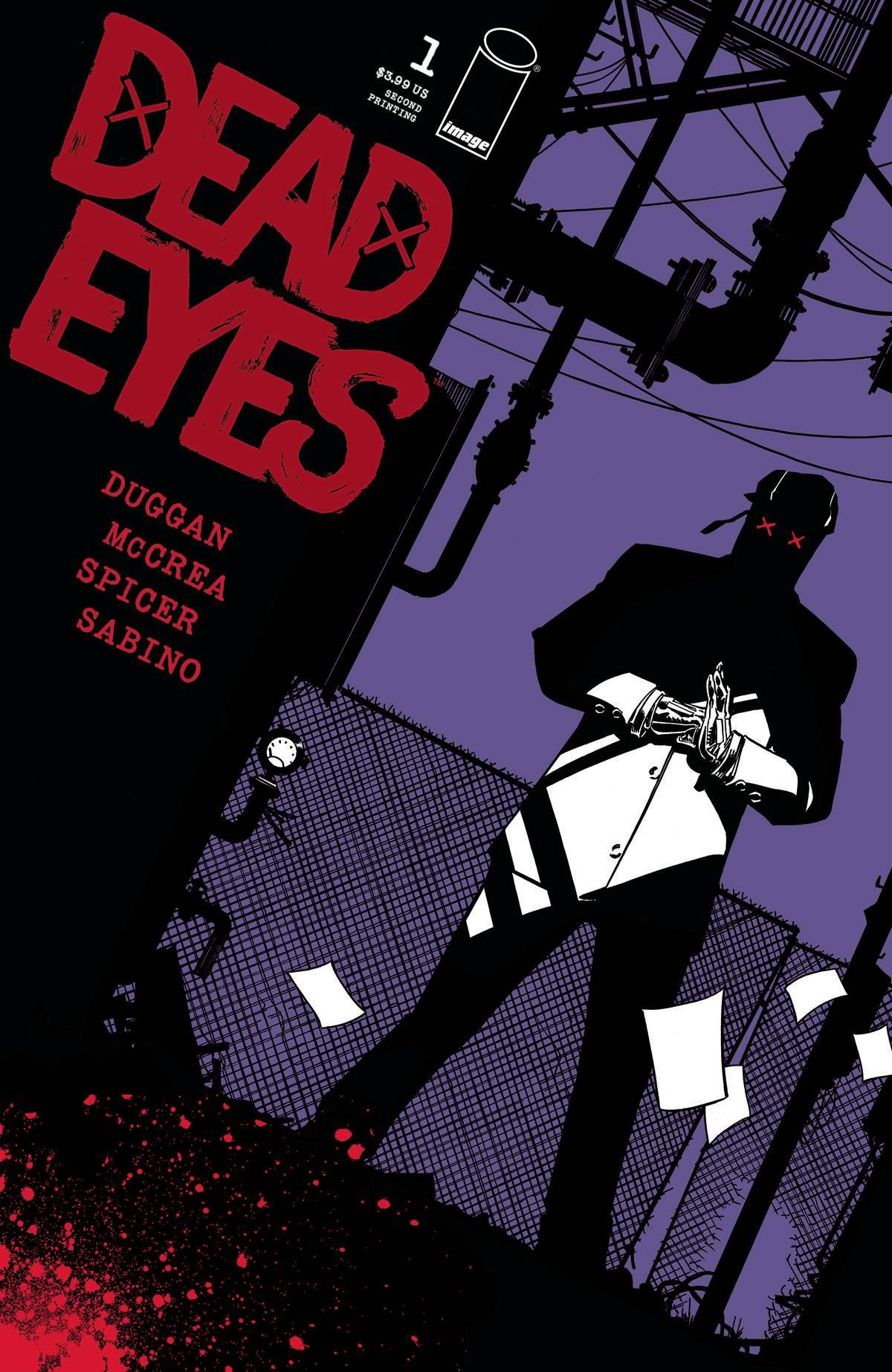 Dead Eyes Issue #1Recap!