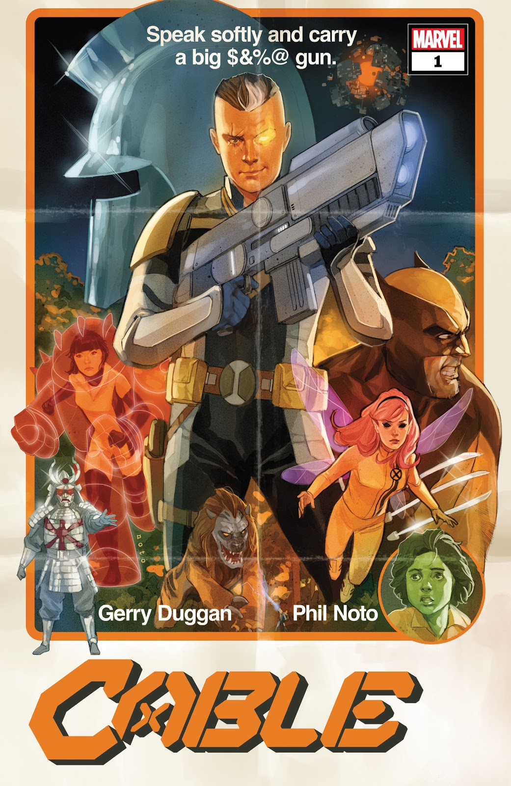 Cable #1 Comic BookRecap