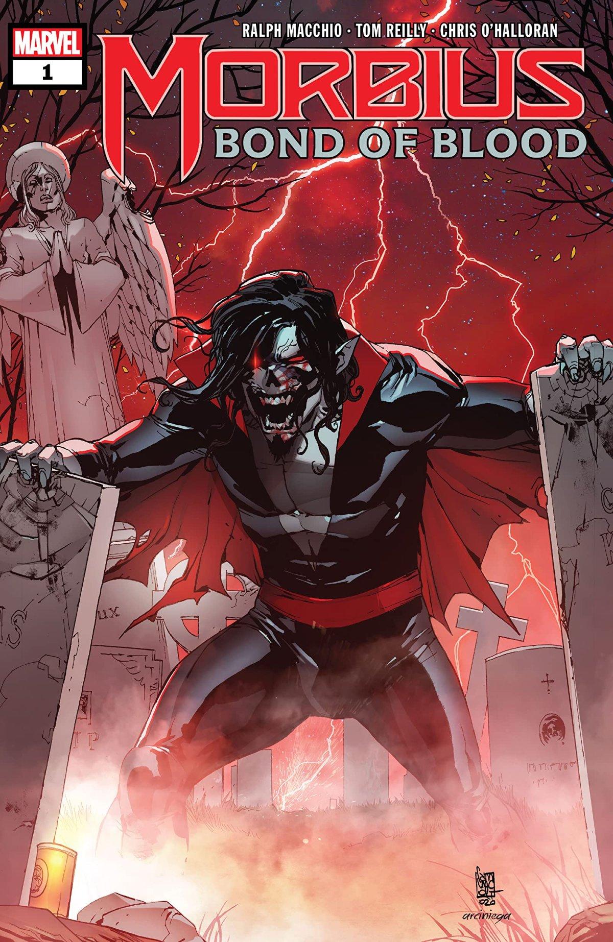 Morbius: Bond of Blood Issue #1 Comic BookRecap