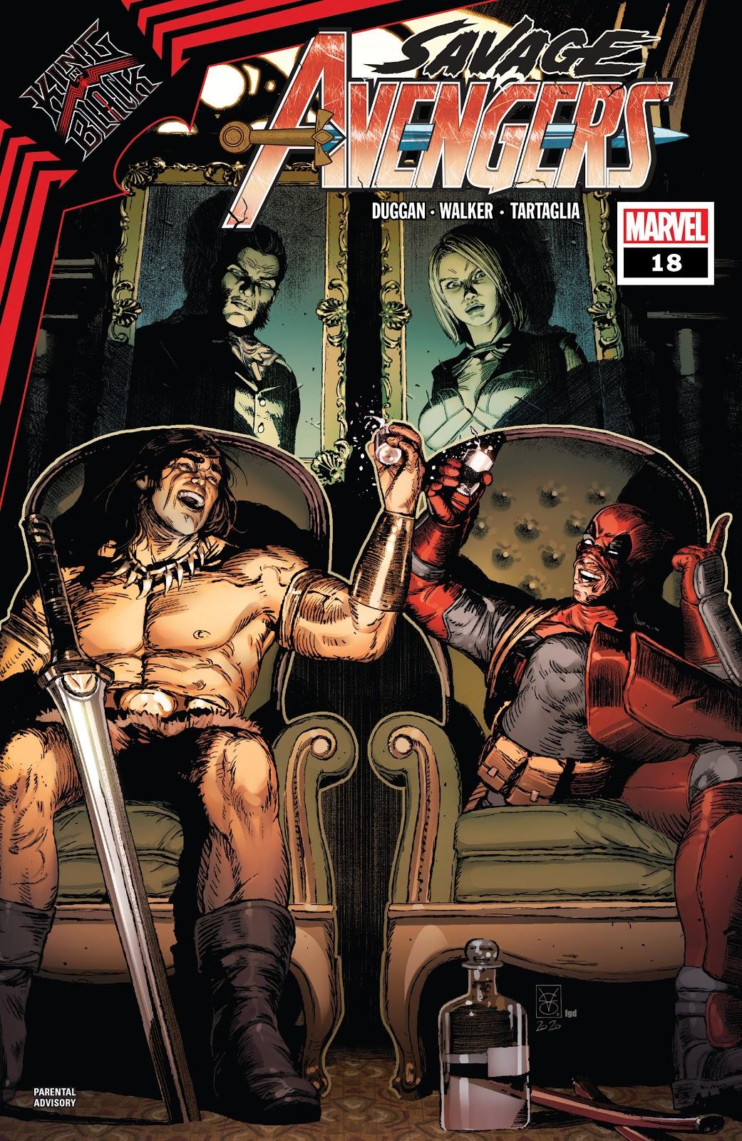Conan The Barbarian Uses a Human Shield Against TheX-Men!