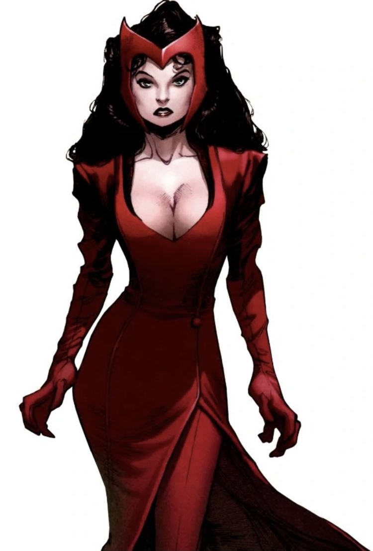 Wanda Maximoff AKA the Scarlet Witch can travel throughmultiverses!